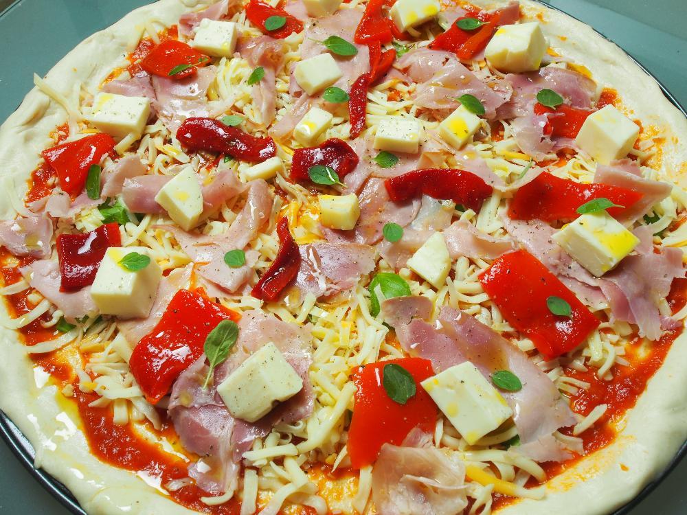 """Pizza """"a la gallega""""  - Paso 4"""