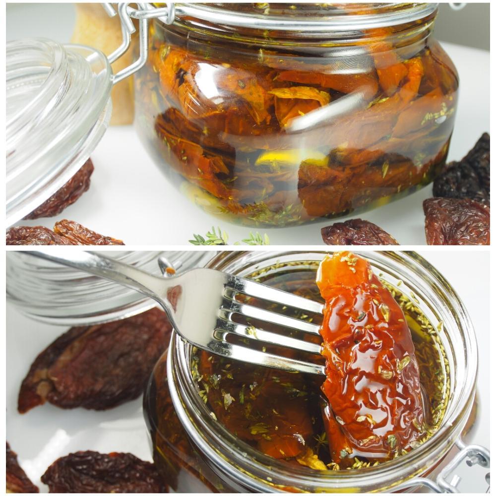 Tomates secos en aceite de oliva - Paso 4