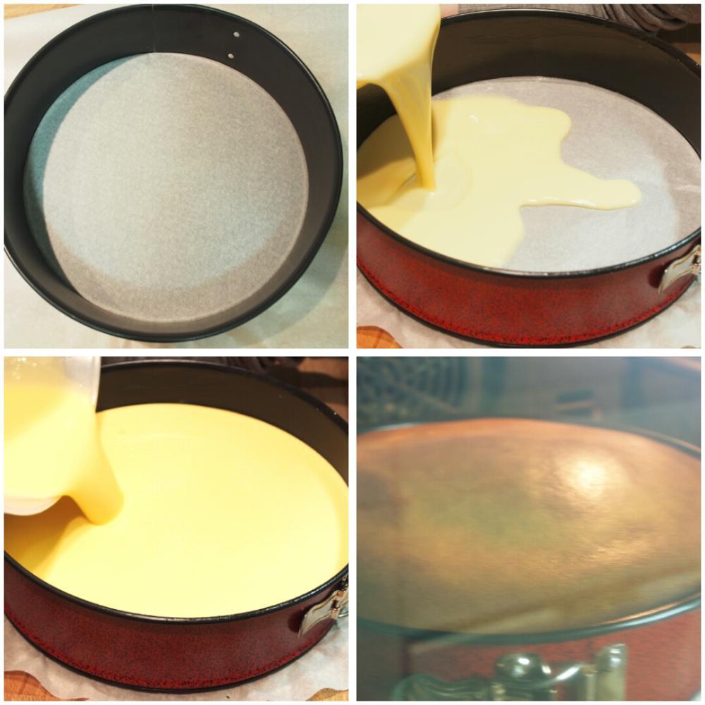 Tarta de queso al horno - Paso 4