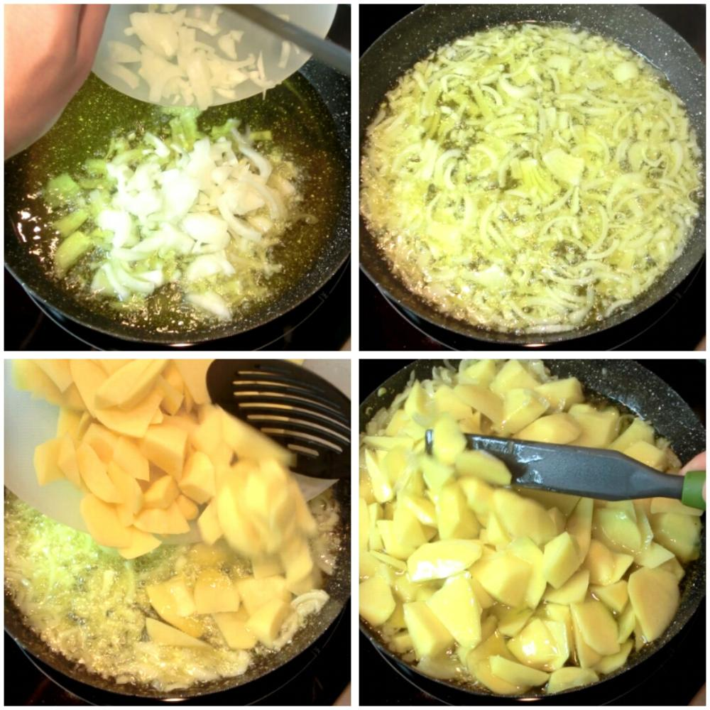 Tortilla de patata - Paso 2