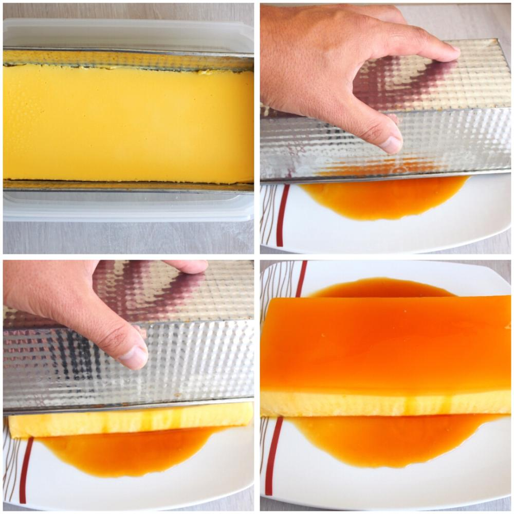 Pastel frío de naranja - Paso 6