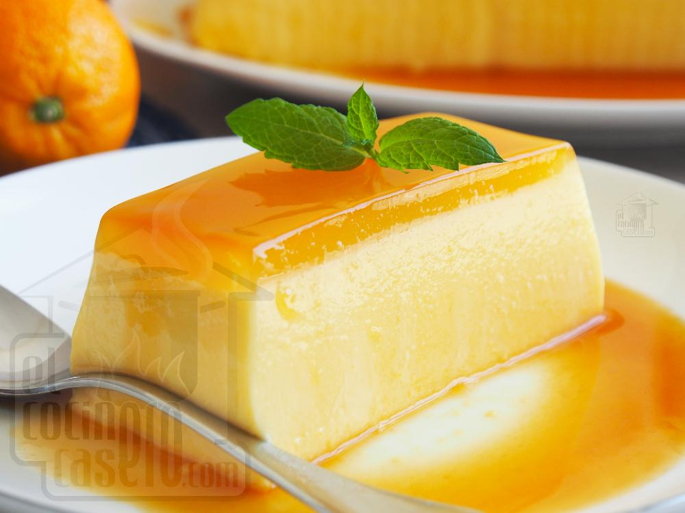 Pastel frío de naranja - Paso 7