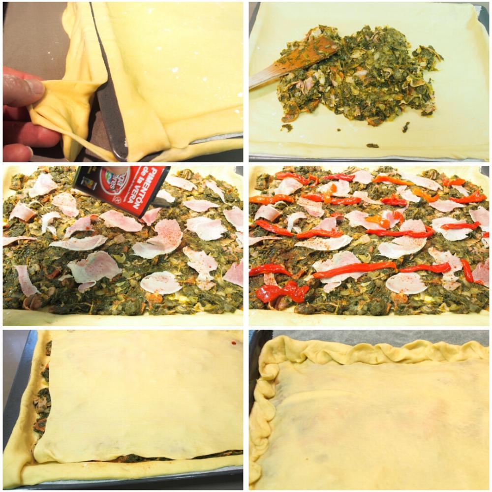 Empanada de lacón con grelos - Paso 5