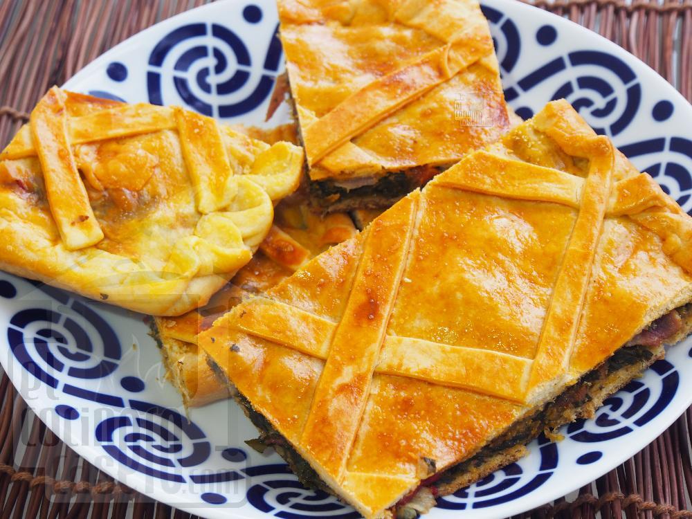 Empanada de lacón con grelos - Paso 7