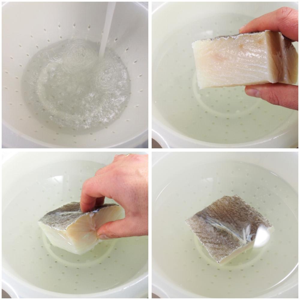 Cómo desalar el bacalao - Paso 3