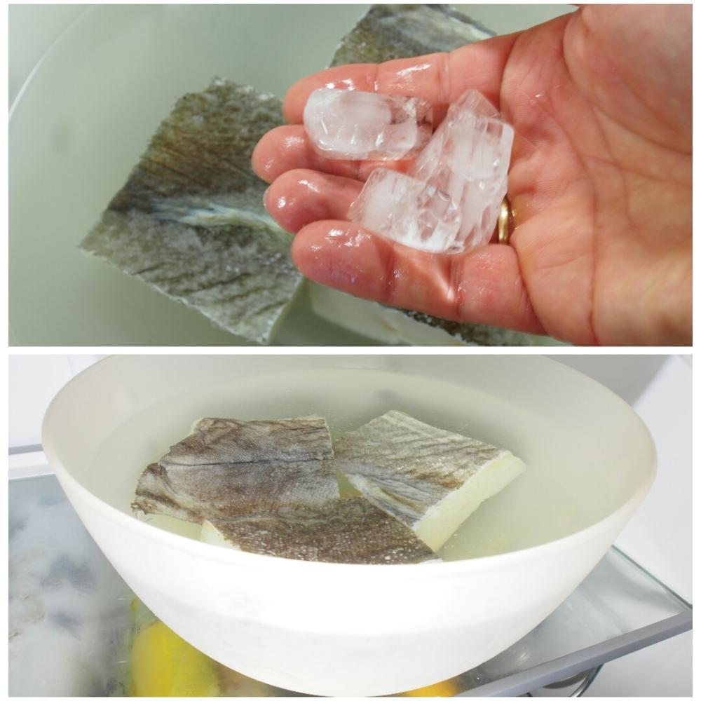 Cómo desalar el bacalao - Paso 4