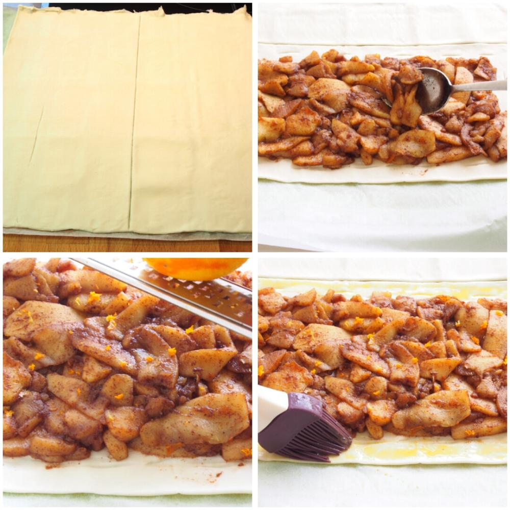 Empanada de manzana - Paso 3