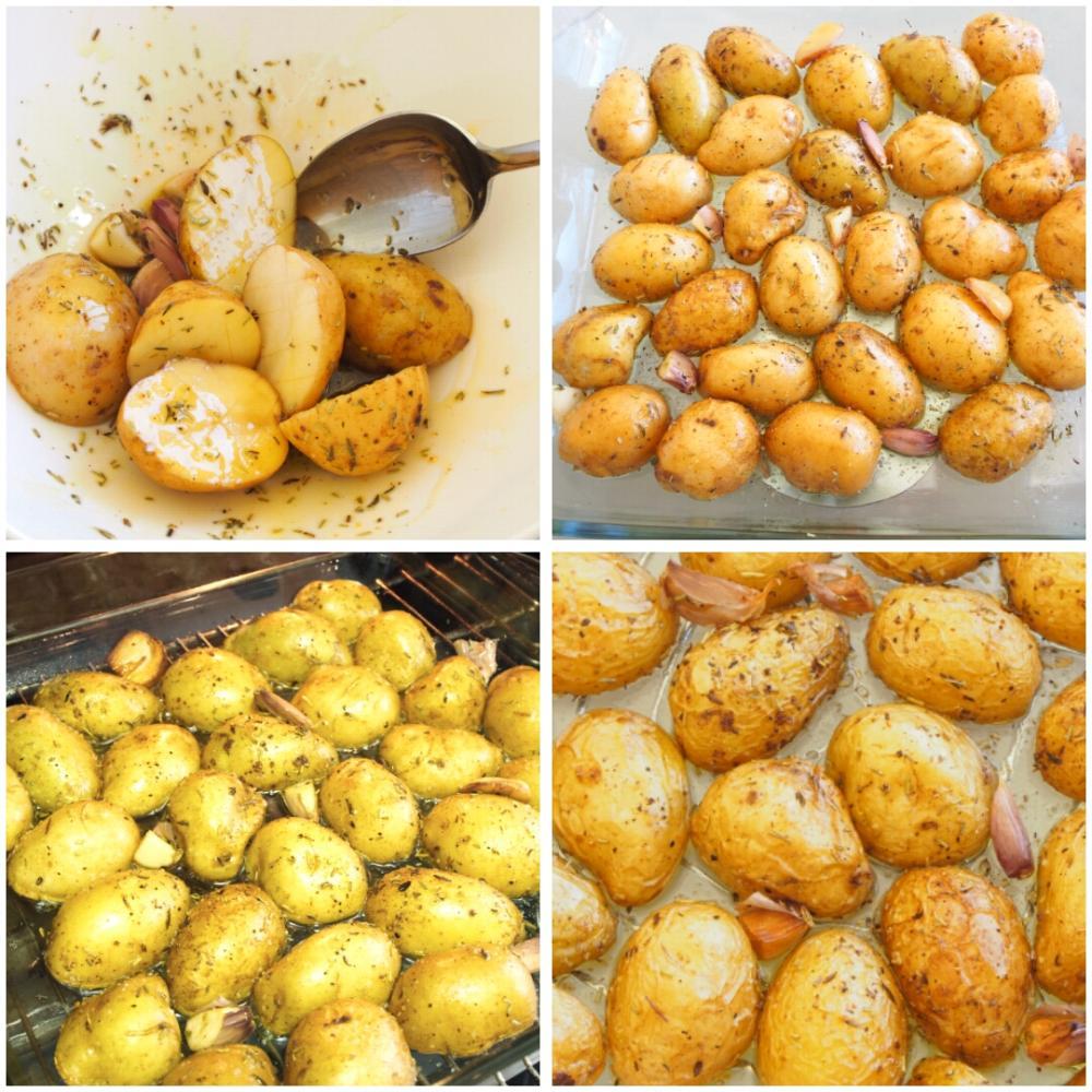 Patatas asadas al horno - Paso 3