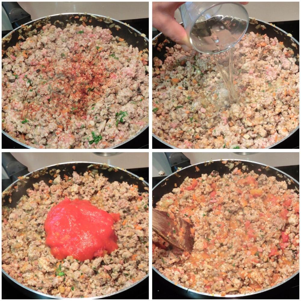 Pimientos rellenos de carne picada - Paso 5