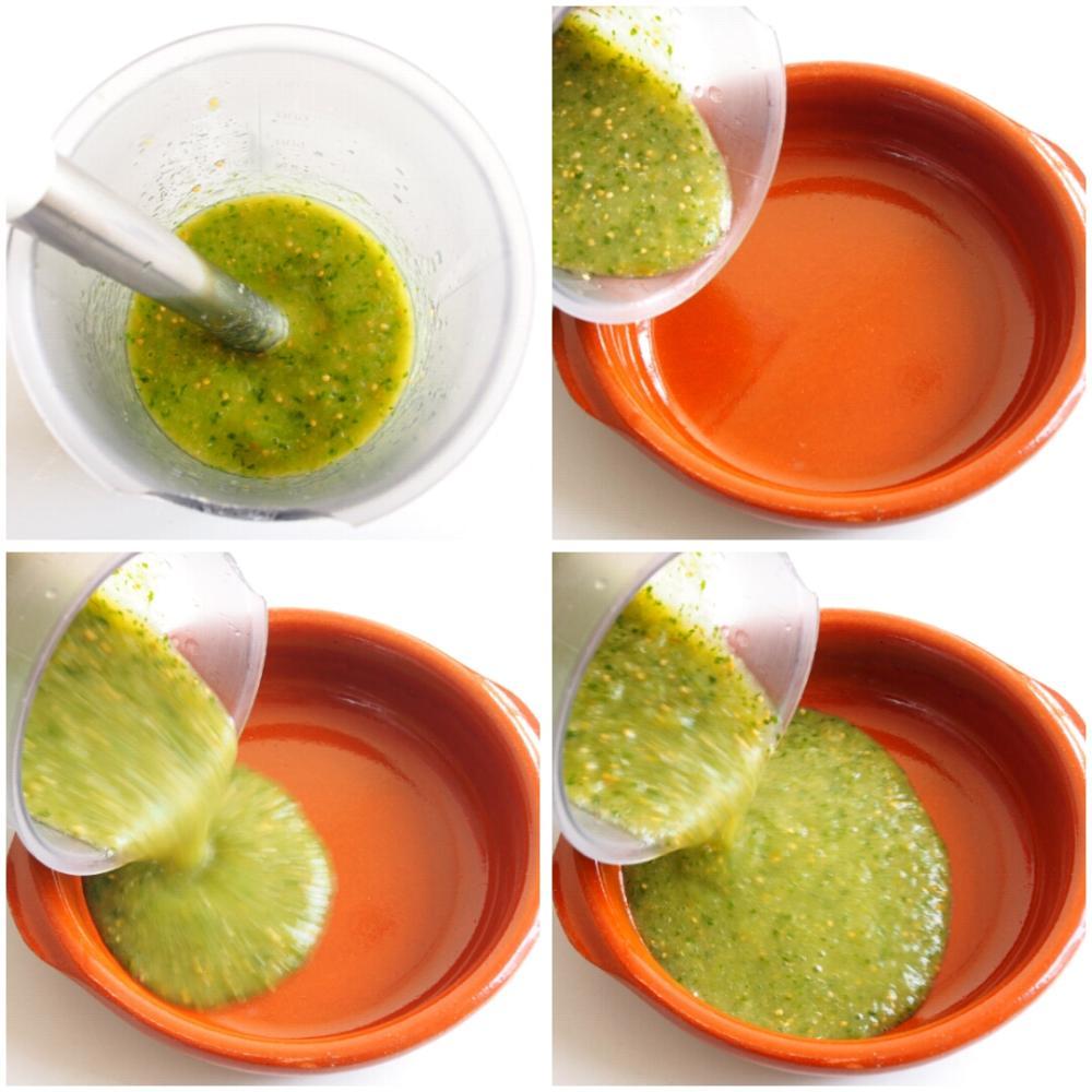 Salsa verde para tacos - Paso 5