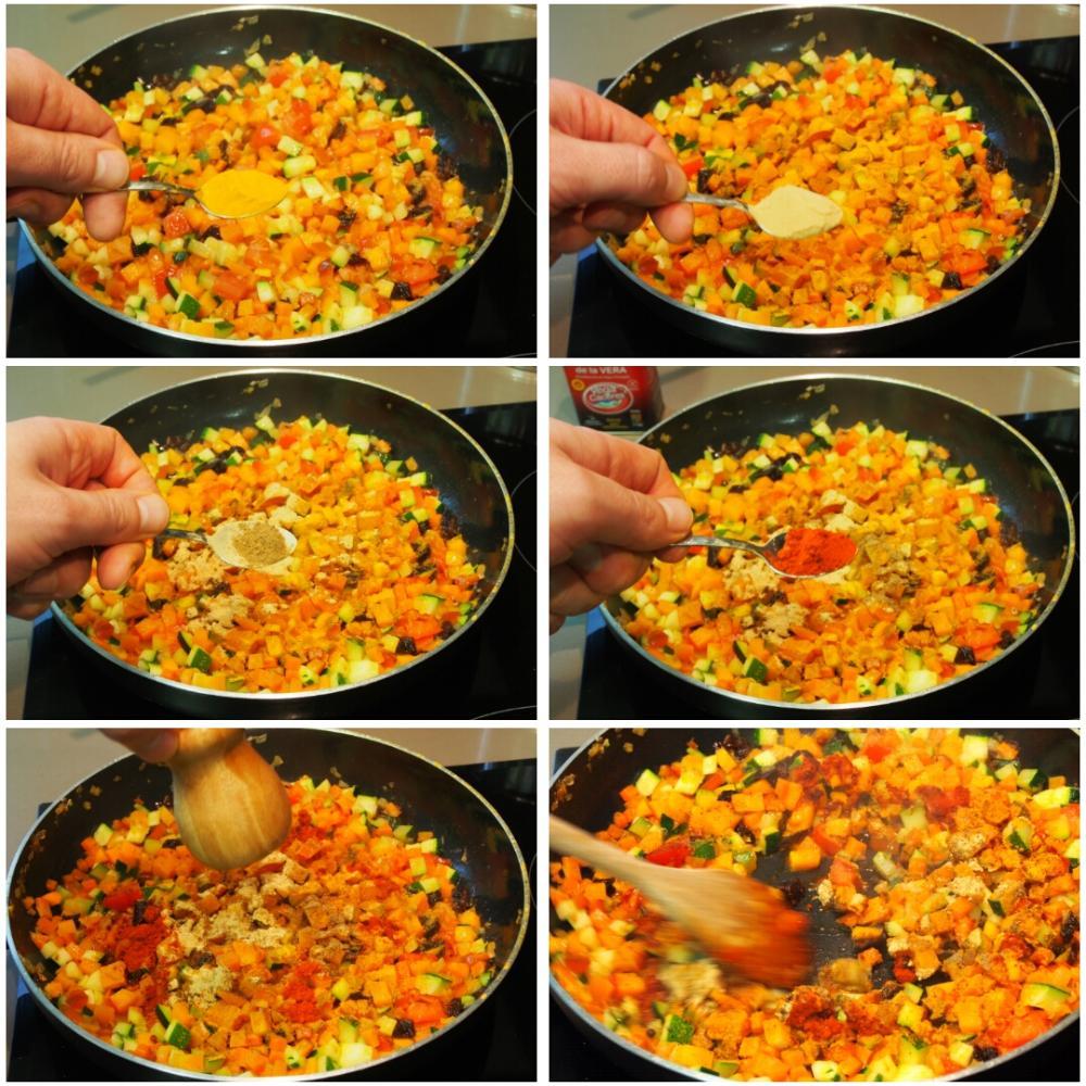 Cuscús de verduras - Paso 4
