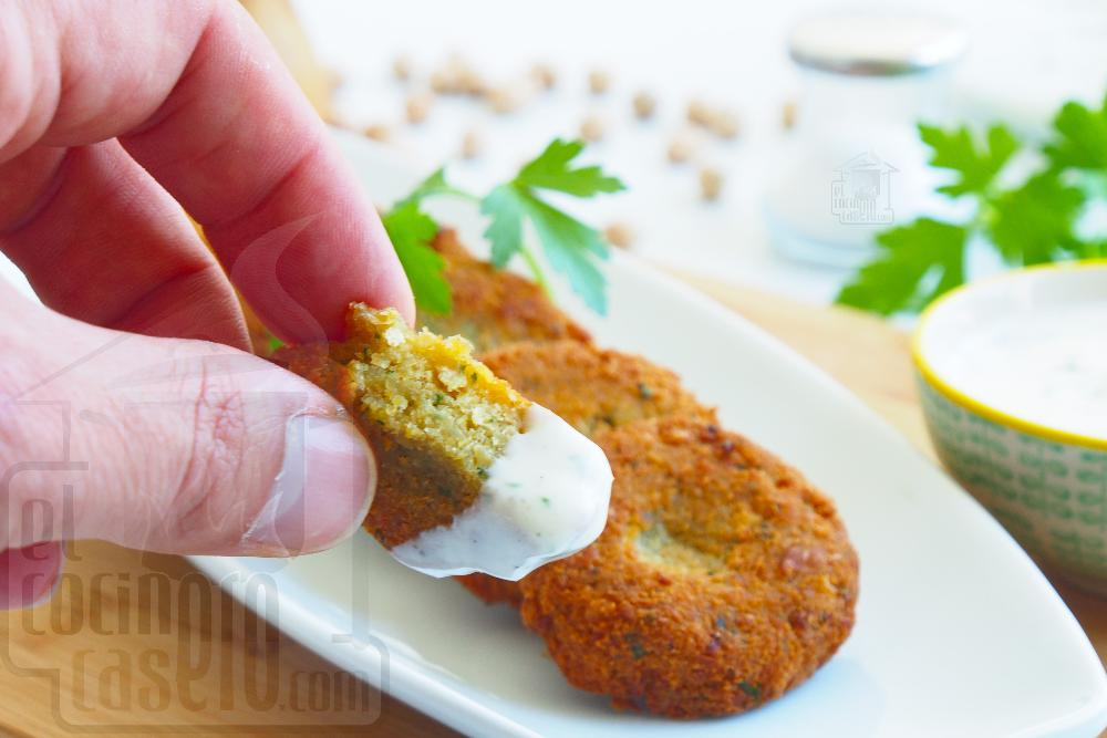 Salsa de yogur para Falafel  - Paso 3