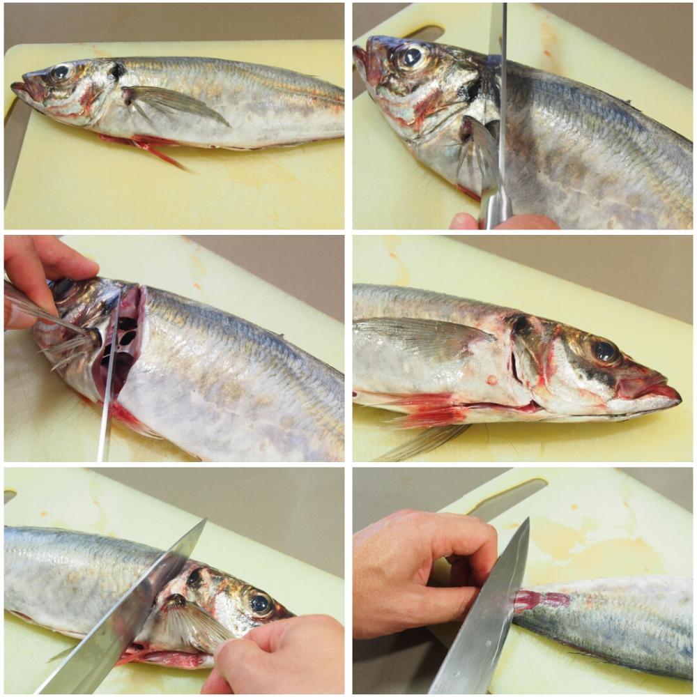 Sashimi de jurel en salsa ponzu - Paso 2