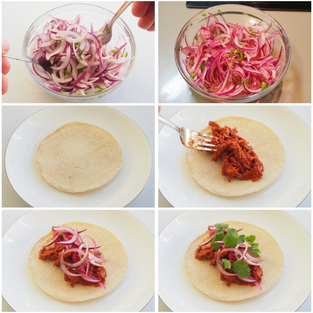 Tacos de Cochinita Pibil - Paso 3