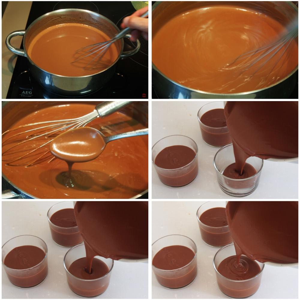 Natillas de chocolate caseras - Paso 5