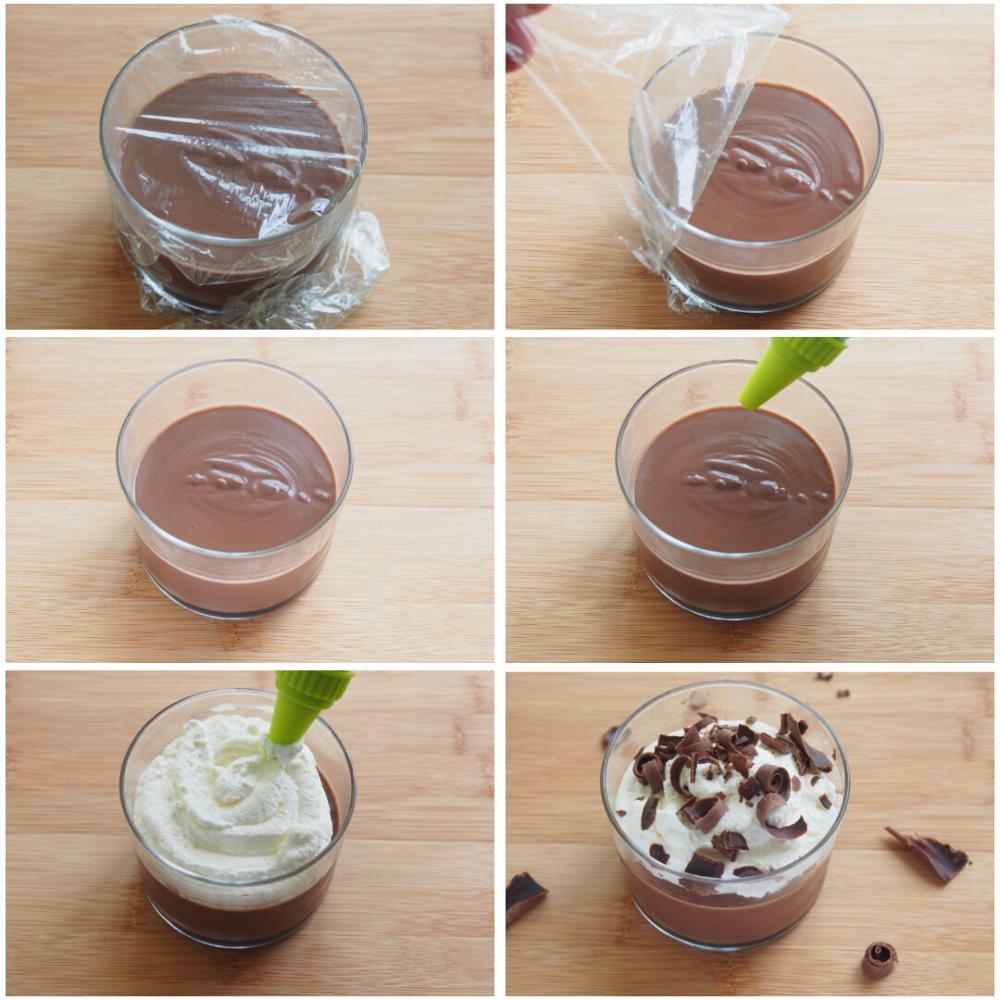Natillas de chocolate caseras - Paso 6