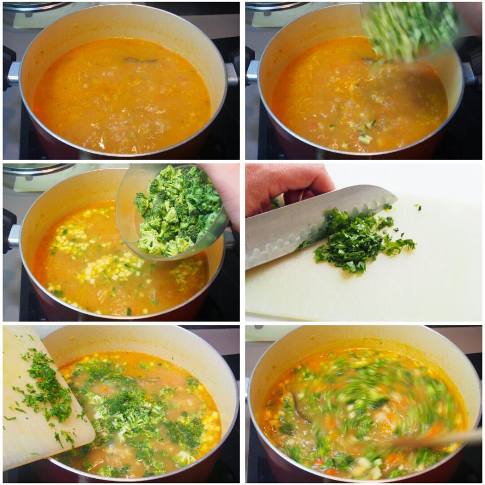 Sopa minestrone italiana - Paso 7