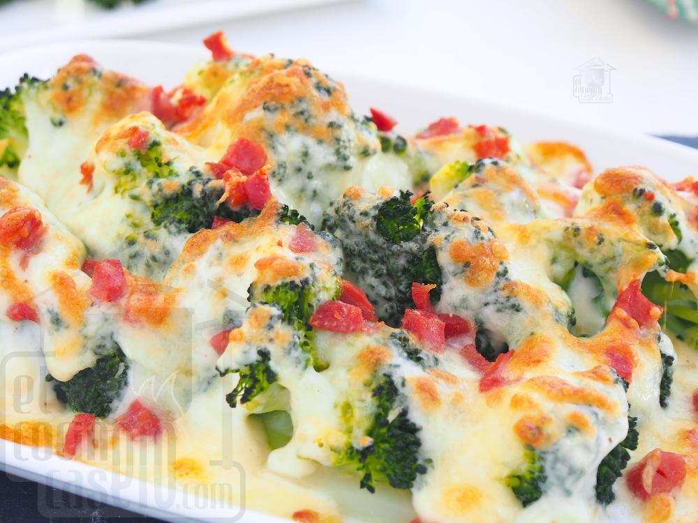 Brócoli al horno con queso - Paso 5