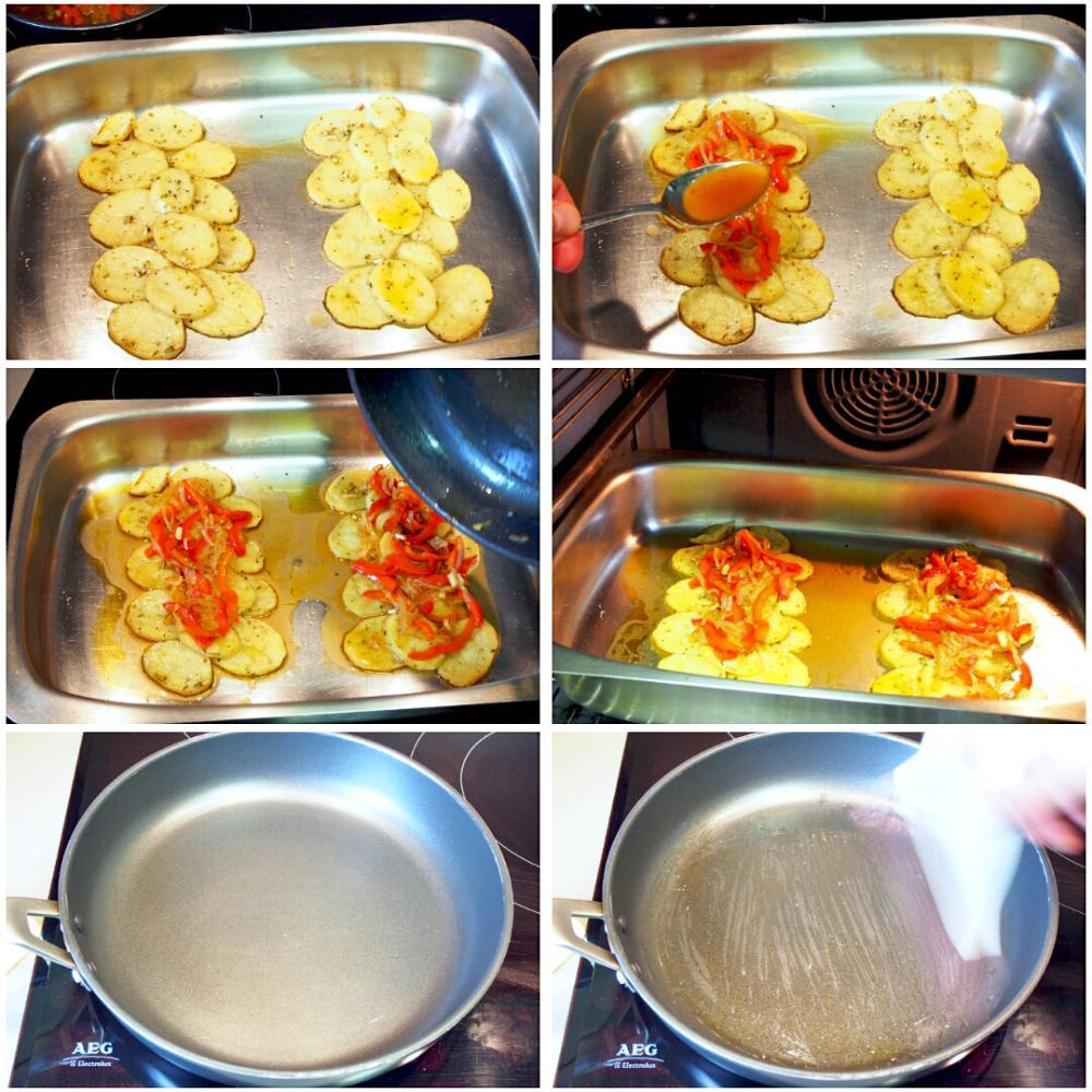 Sargo al horno con patatas - Paso 6