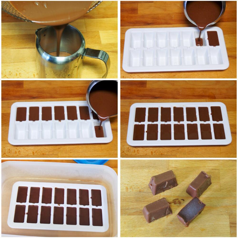Coulant de chocolate - Paso 3