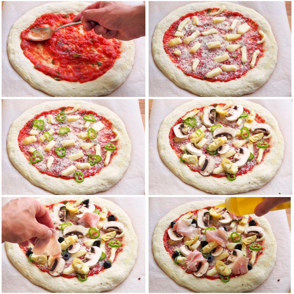 Pizza Caprichosa - Paso 4
