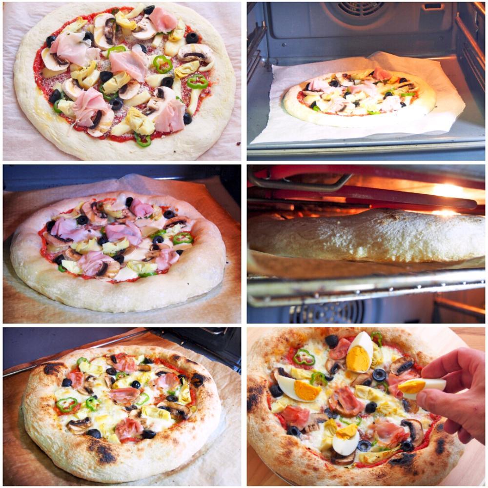 Pizza Caprichosa - Paso 5