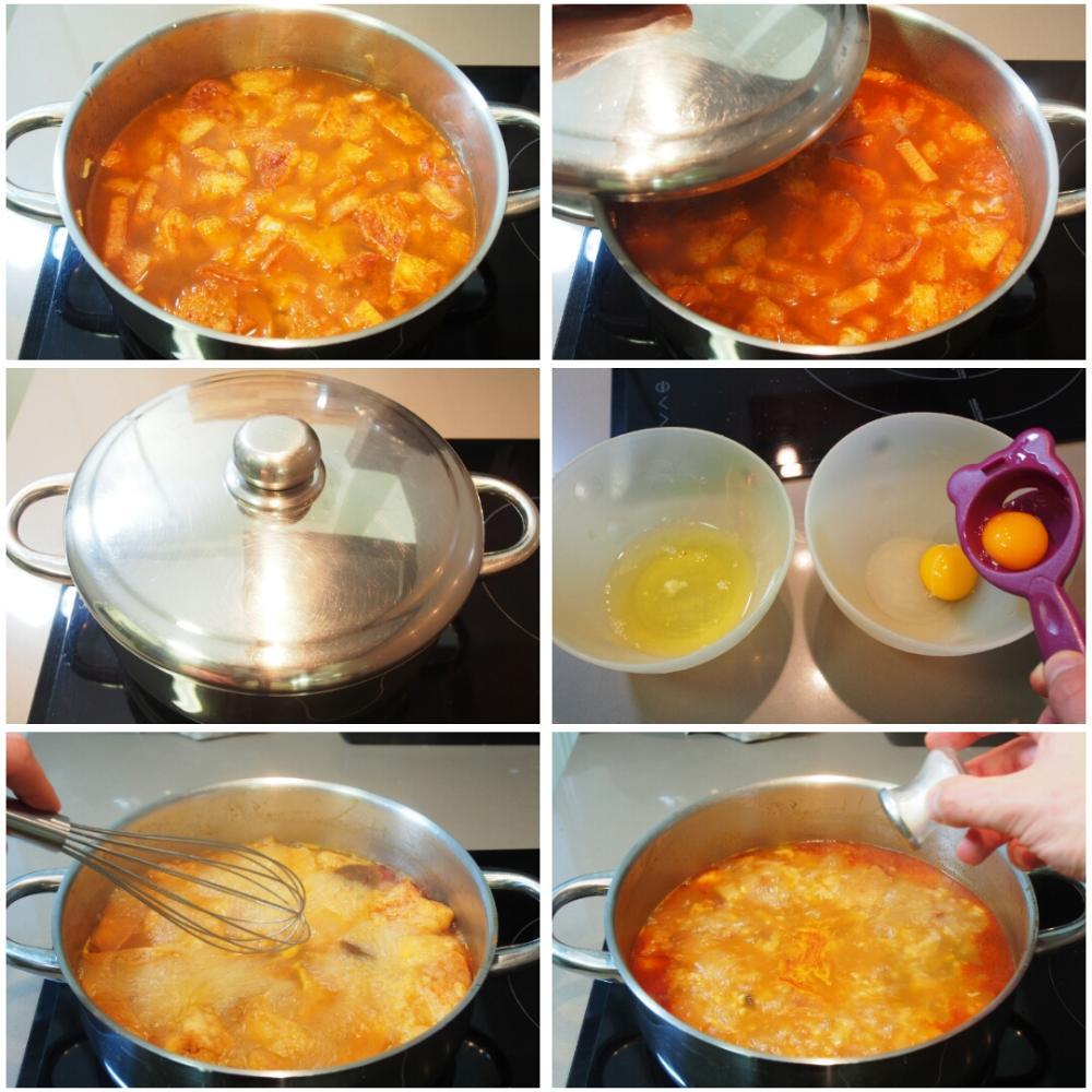 Sopa de ajo - Paso 4