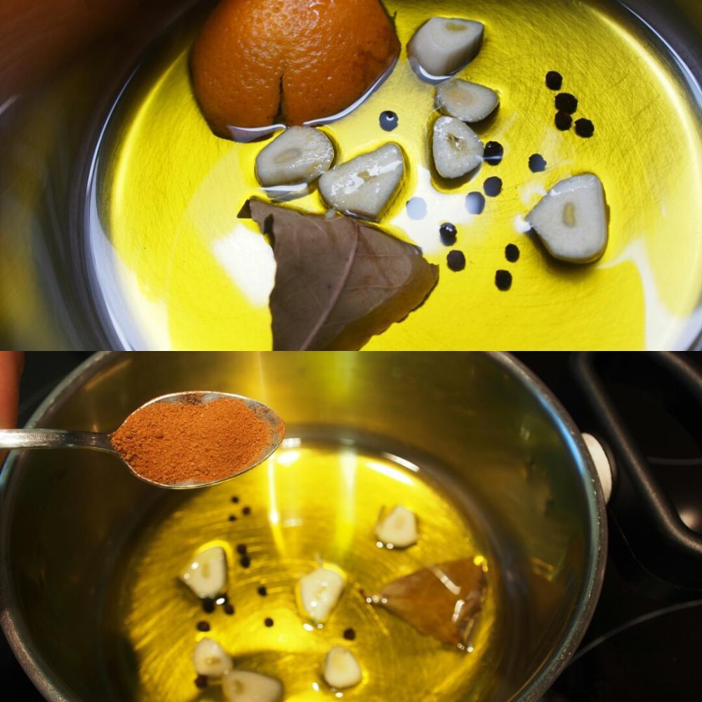 Mejillones en escabeche de naranja - Paso 3