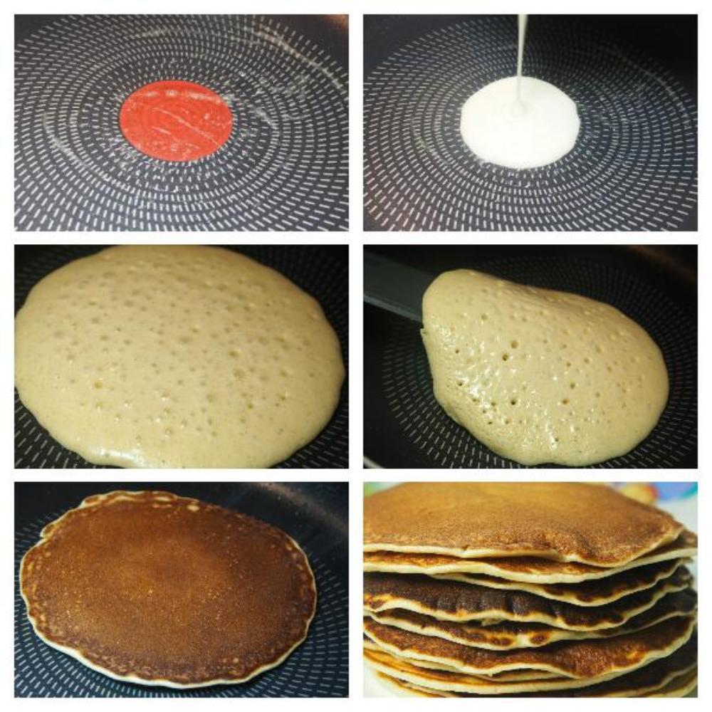 Receta auténtica de tortitas americanas  - Paso 4