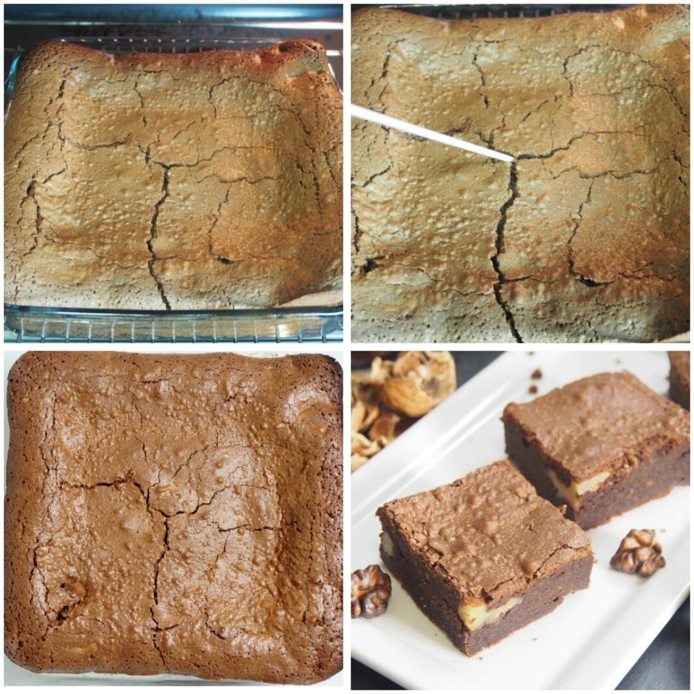 Brownie de chocolate - Paso 3