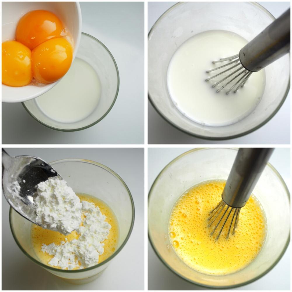 Crema pastelera - Paso 2