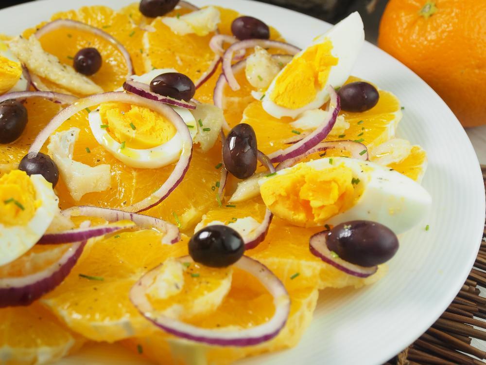 Ensalada de naranja y bacalao (Remojón granadino) - Paso 3