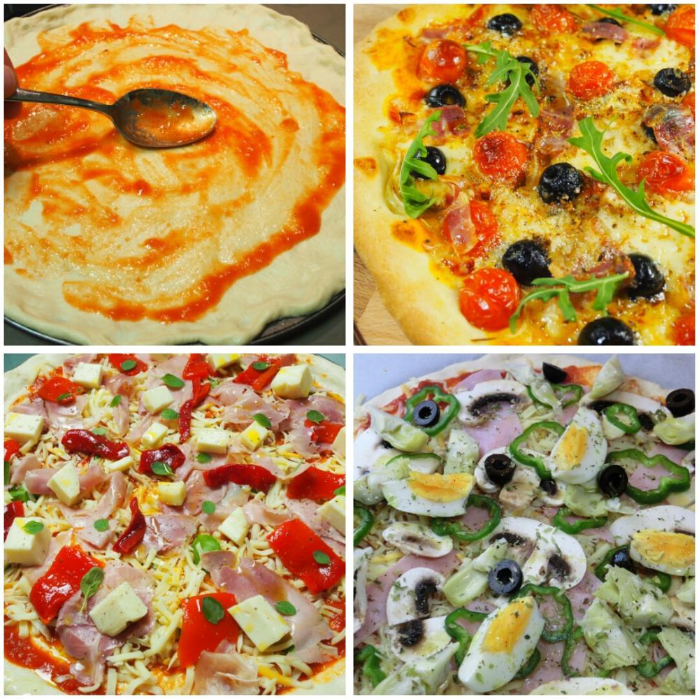Masa de pizza - Paso 5