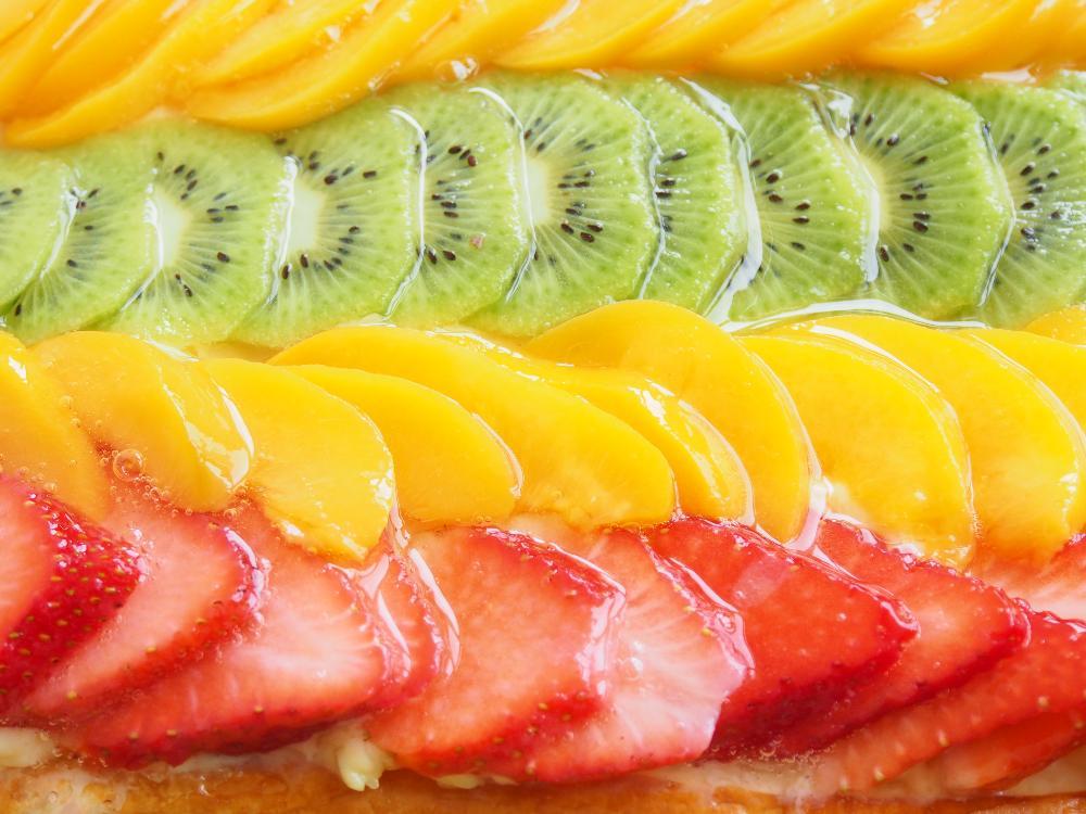 Hojaldre de frutas con crema pastelera - Paso 4