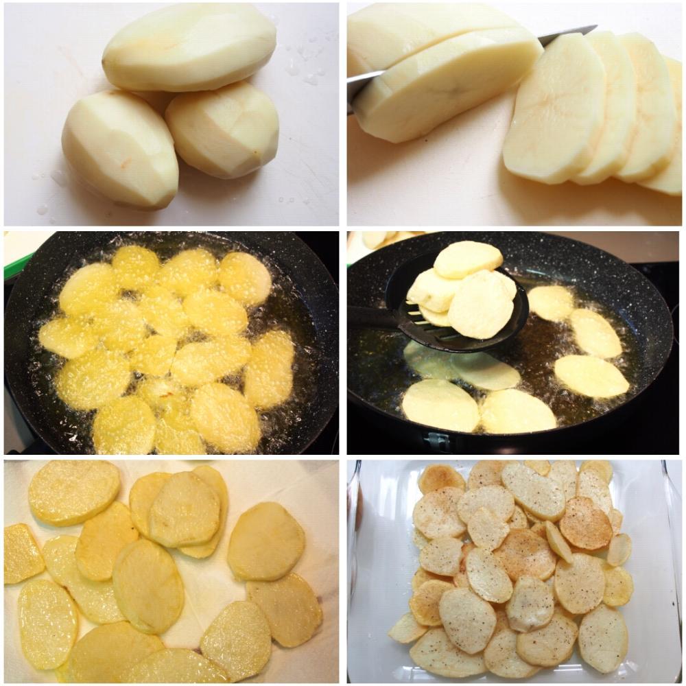 Pechugas de pollo al horno rellenas de jamón y queso  - Paso 1