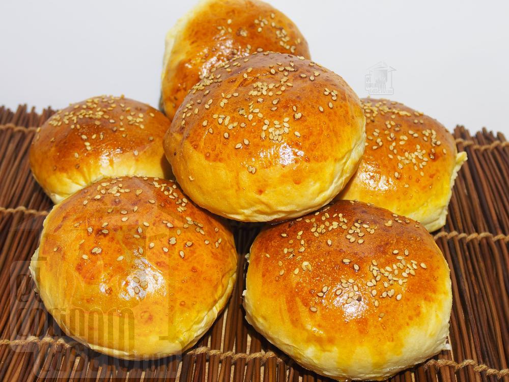 Pan de hamburguesa casero - Paso 6