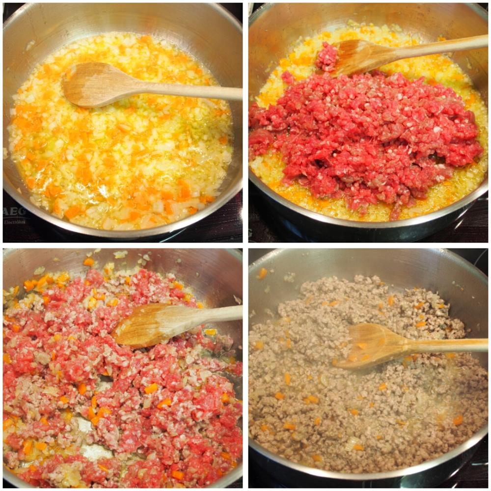 Salsa boloñesa - Paso 2
