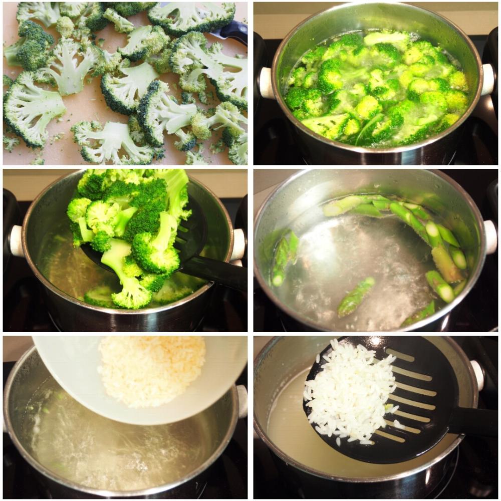 Verduras salteadas con soja - Paso 1