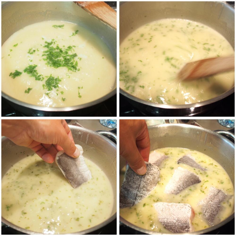 Merluza en salsa verde - Paso 4