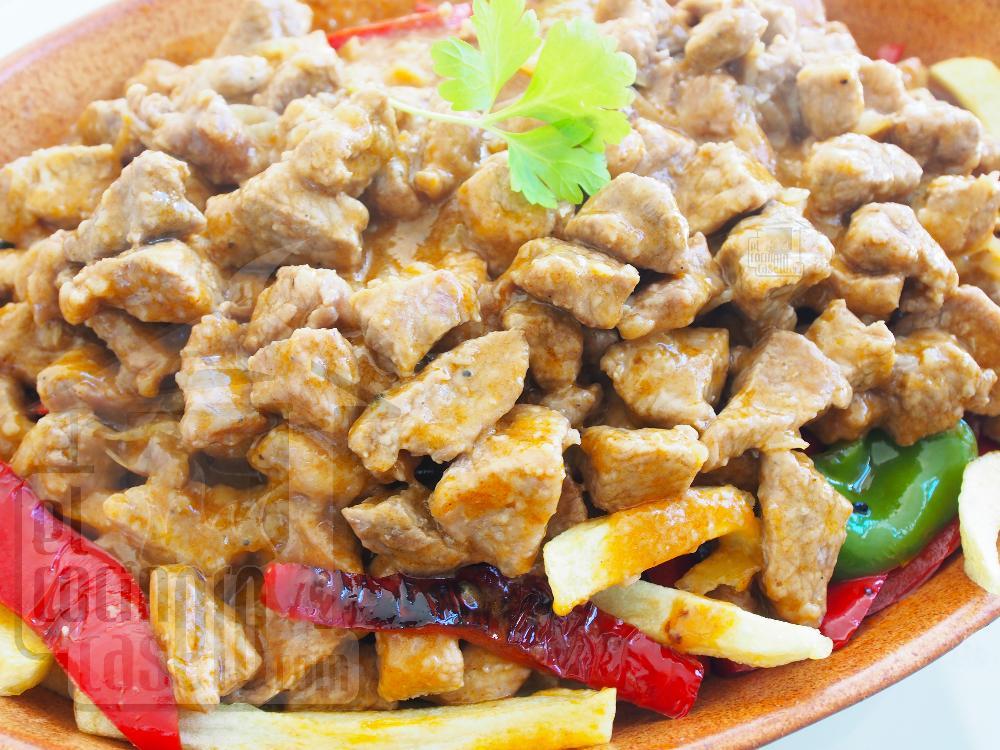 Carne richada - Paso 7