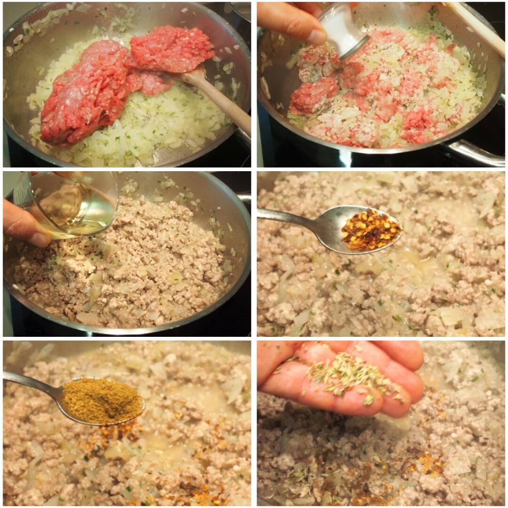 Empanadillas argentinas de carne - Paso 3
