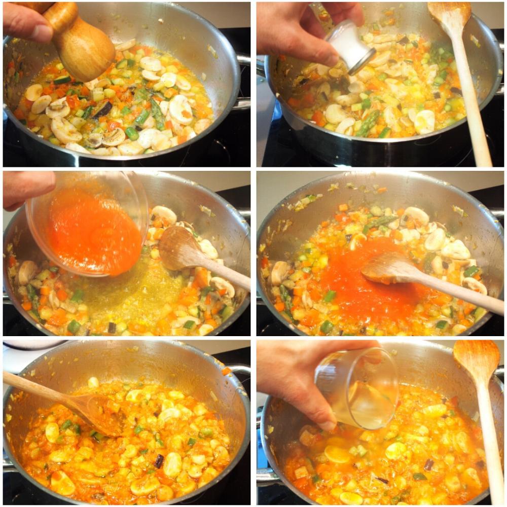 Arroz caldoso de verduras - Paso 4