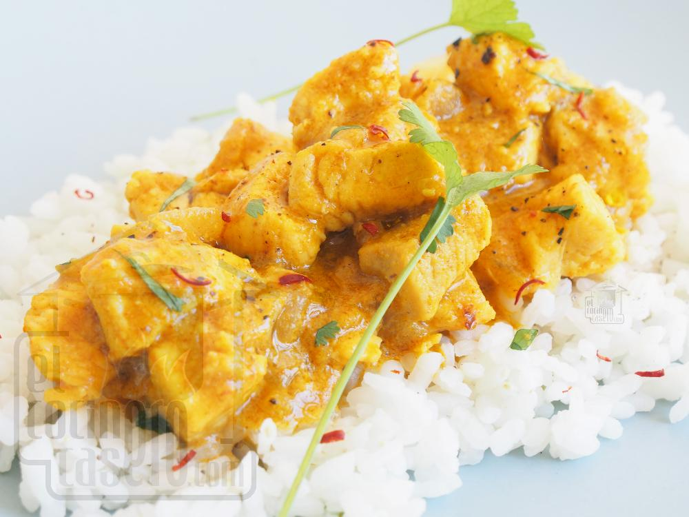 Pollo al curry - Paso 6