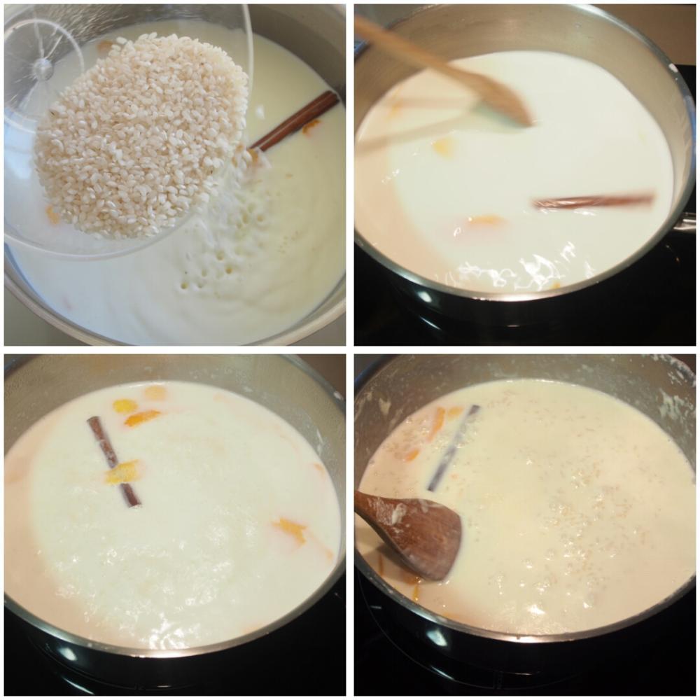 Arroz con leche casero - Paso 2