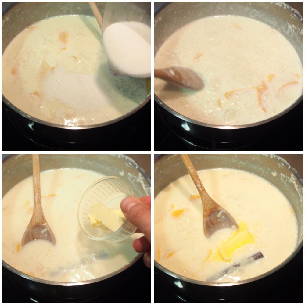 Arroz con leche casero - Paso 3