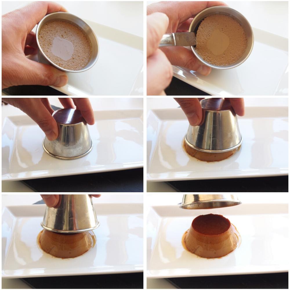 Flan de café - Paso 5