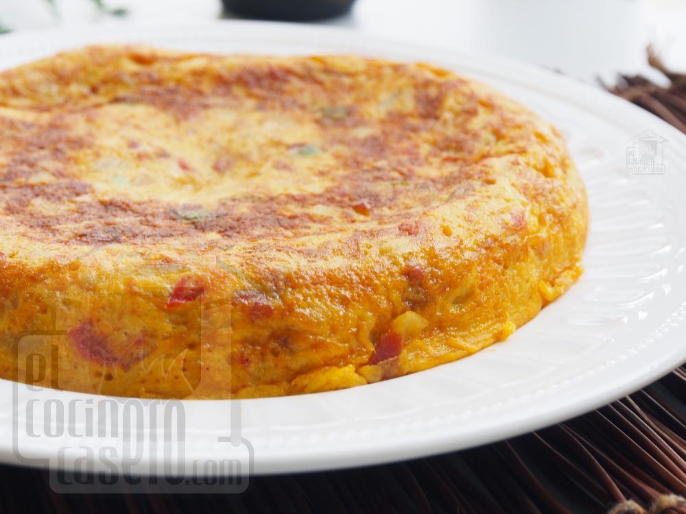 Tortilla paisana - Paso 6