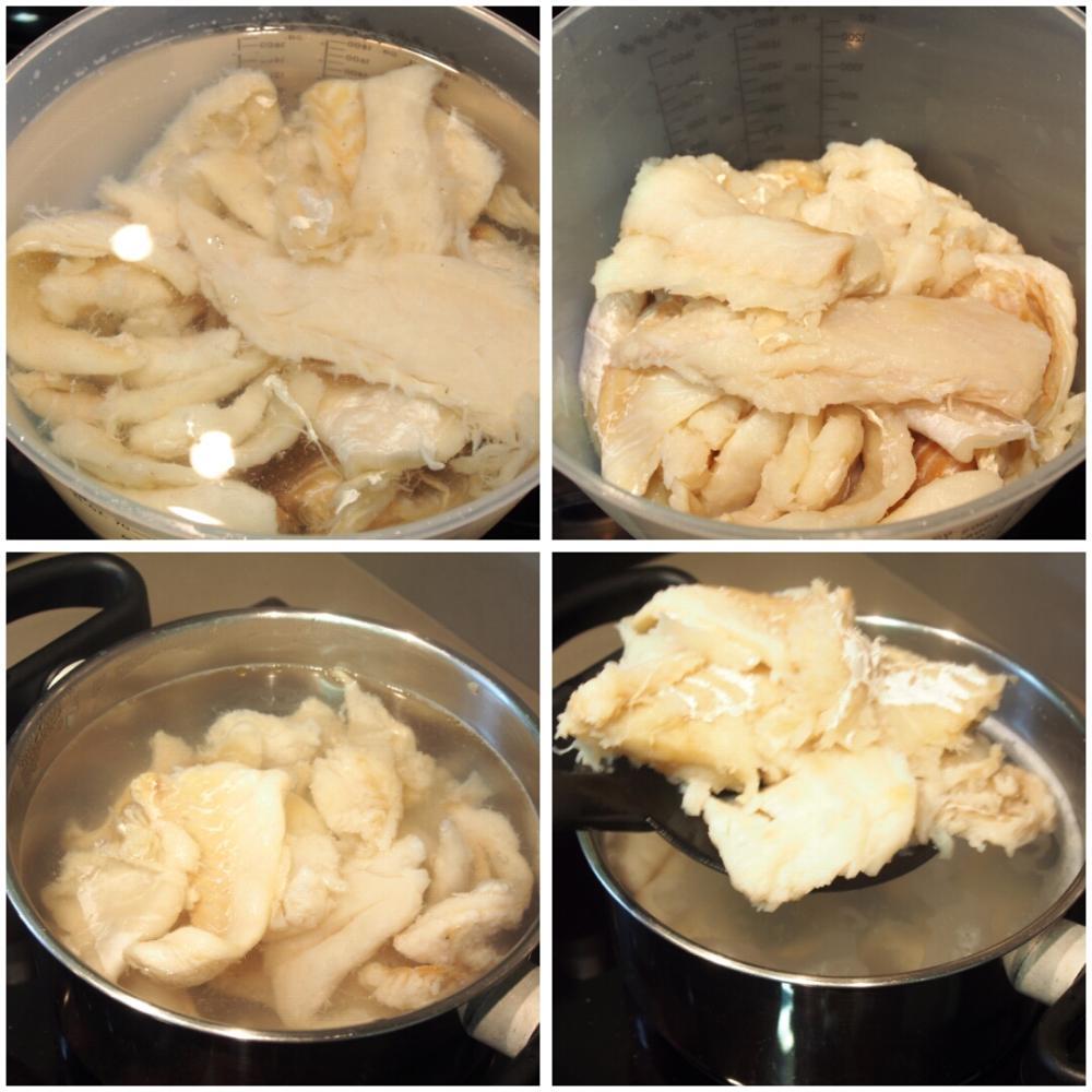 Empanada de bacalao y pasas - Paso 3
