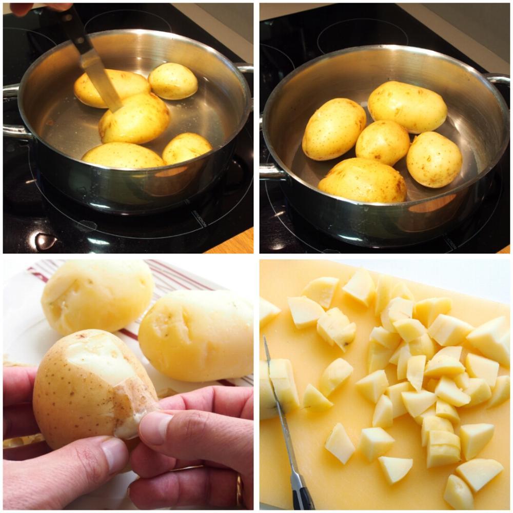 Patatas con alioli  - Paso 2