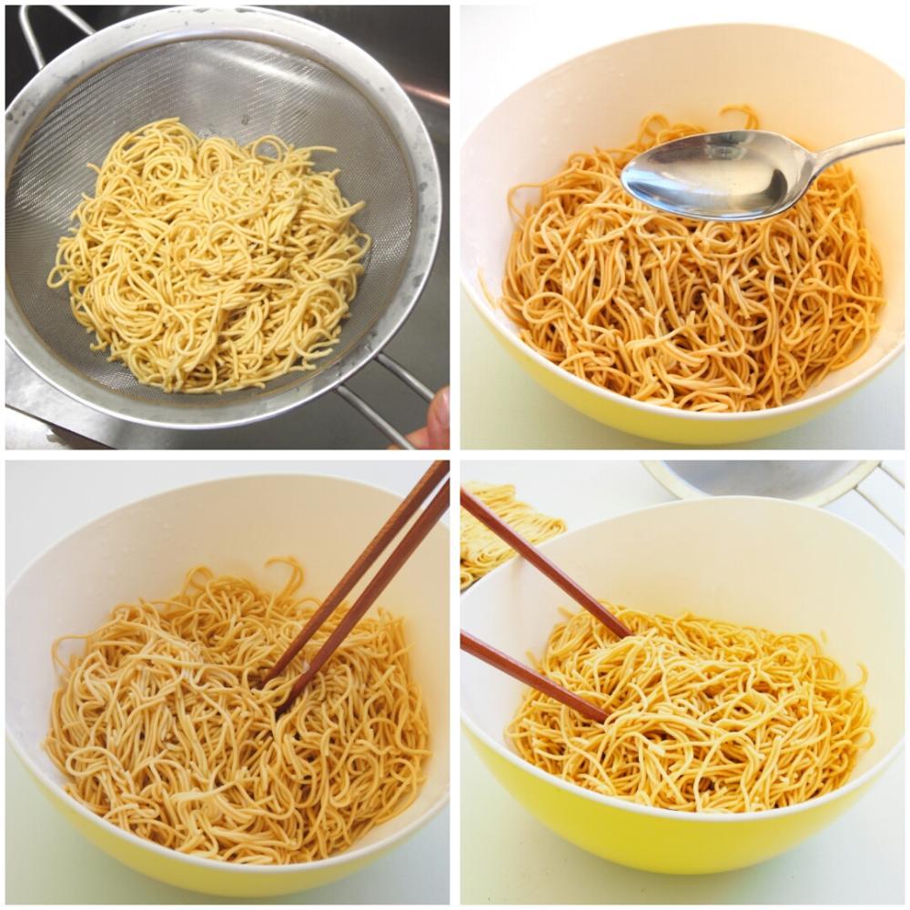 Cómo cocer noodles - Paso 3